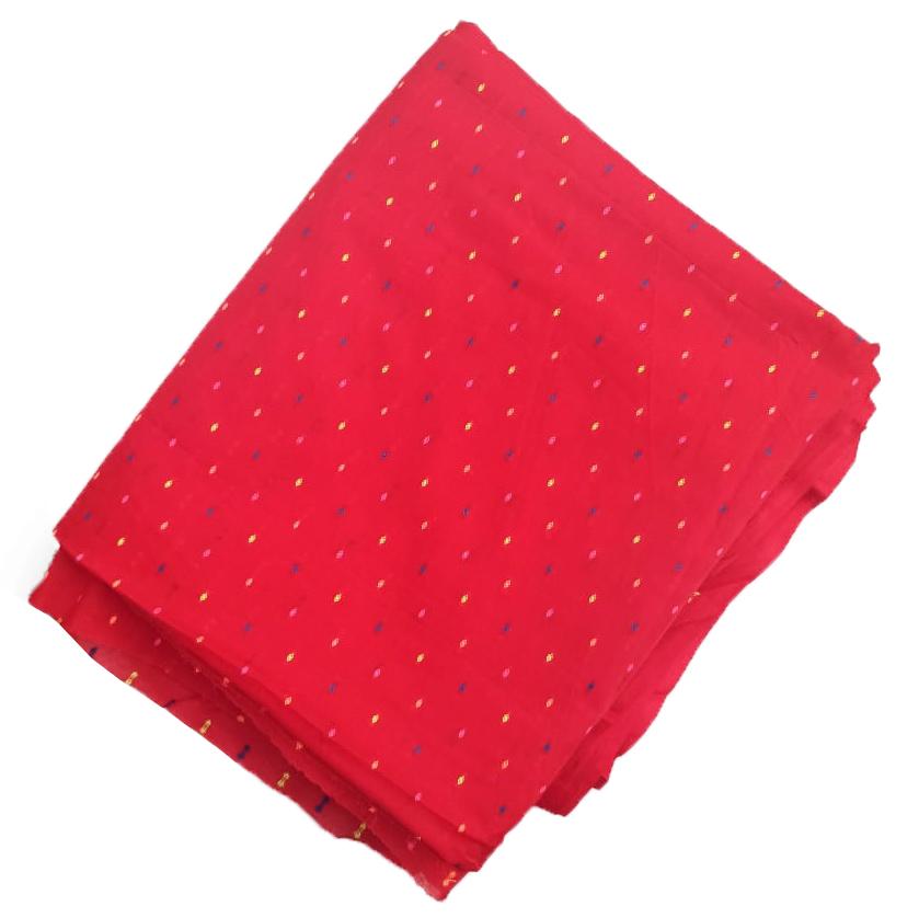Red Makhi Pure Cotton Salwar Kameez Dress Material CJ039 1