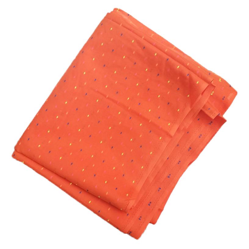Orange Makhi Pure Cotton Salwar Kameez Dress Material CJ041 1