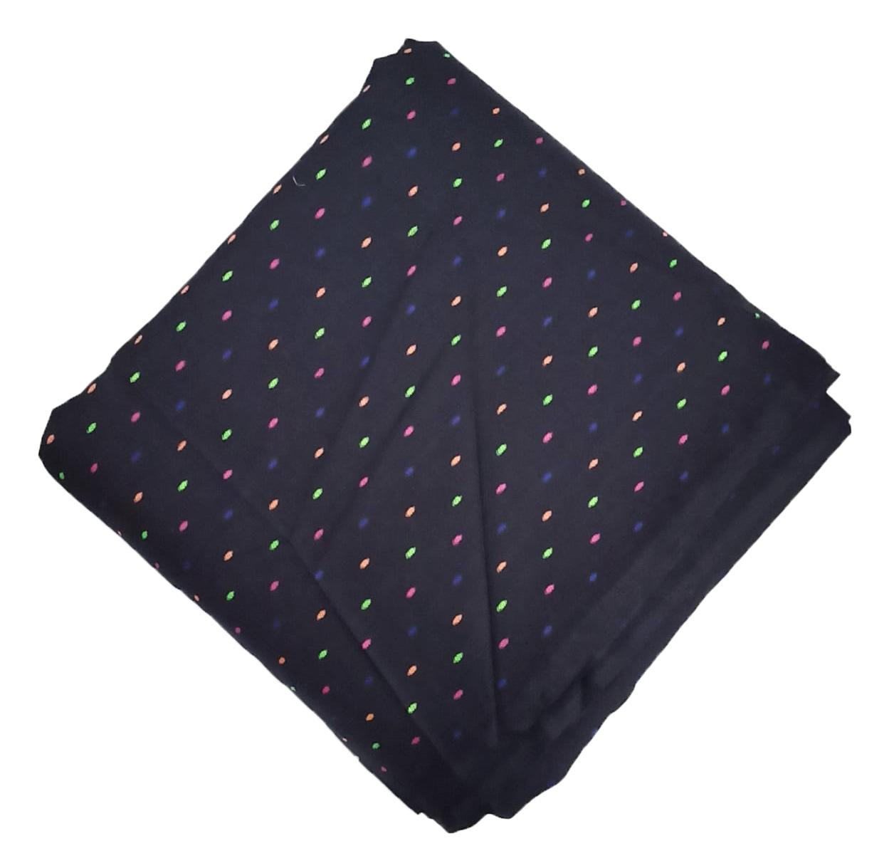 Black Makhi Pure Cotton Salwar Kameez Dress Material CJ042 1