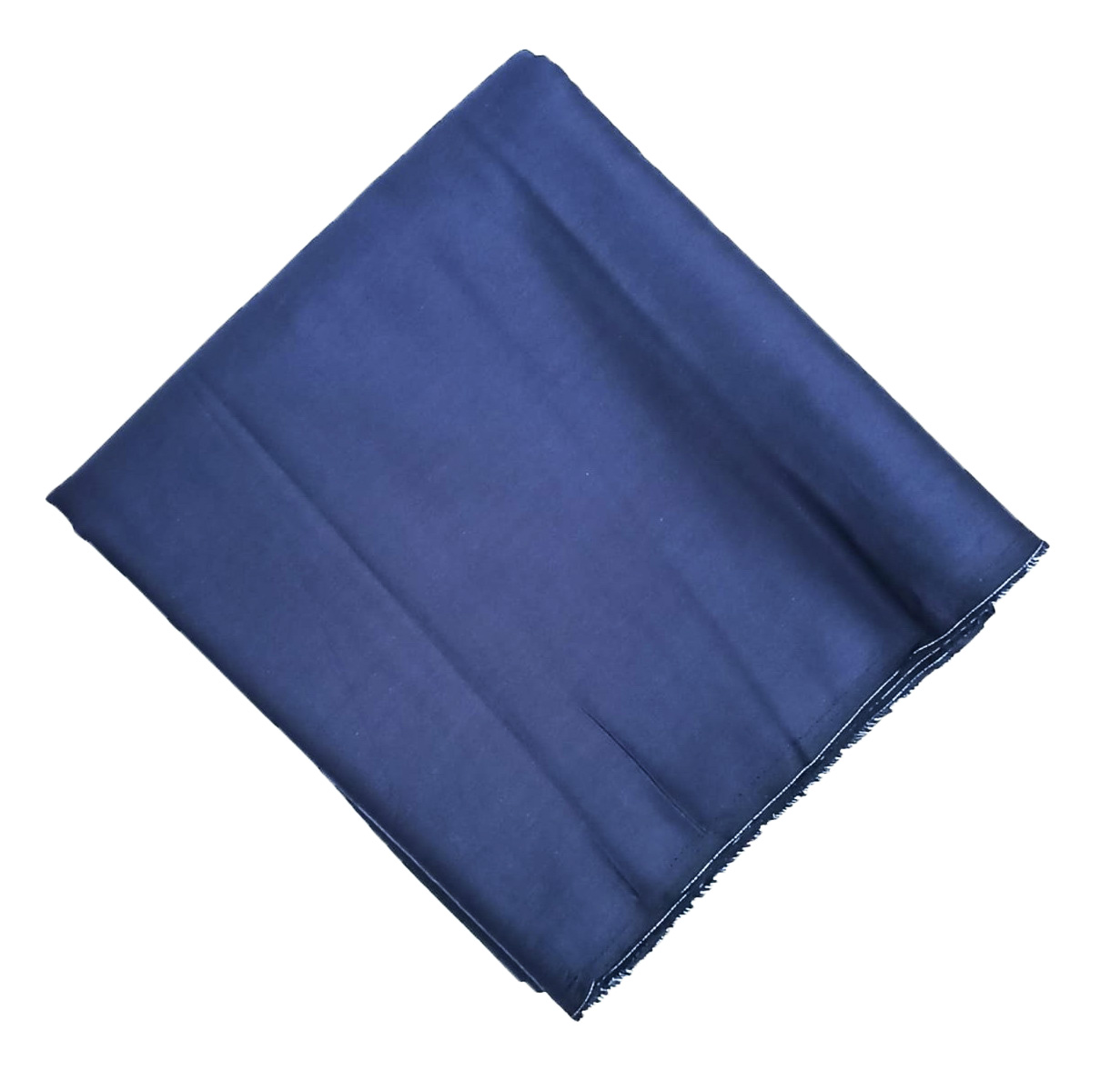 Navy Blue Makhani Cotton Fabric Cutpiece CJ049 1