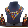 Multicolour Chain Earrings Set J0594
