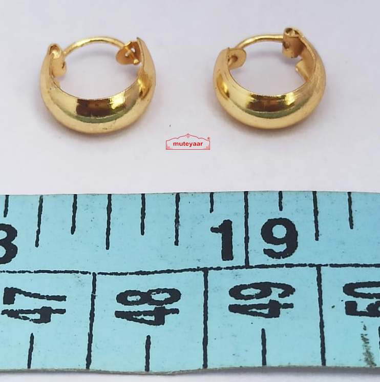 Small earrings for men J0597 1