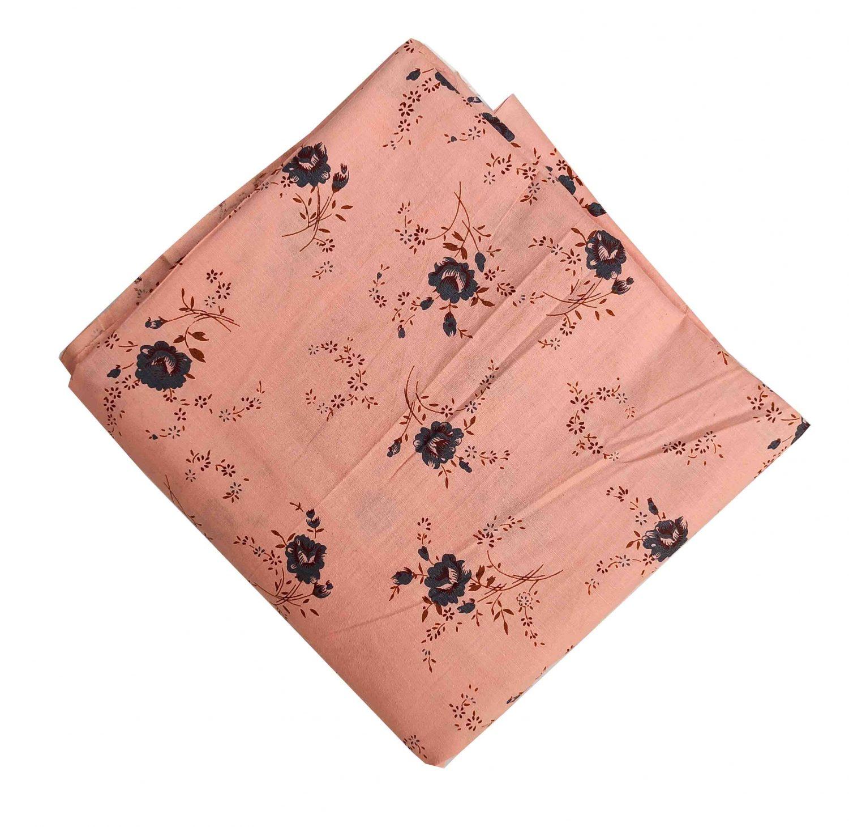 Peach Cotton soft fabric for multipurpose use PC553 1