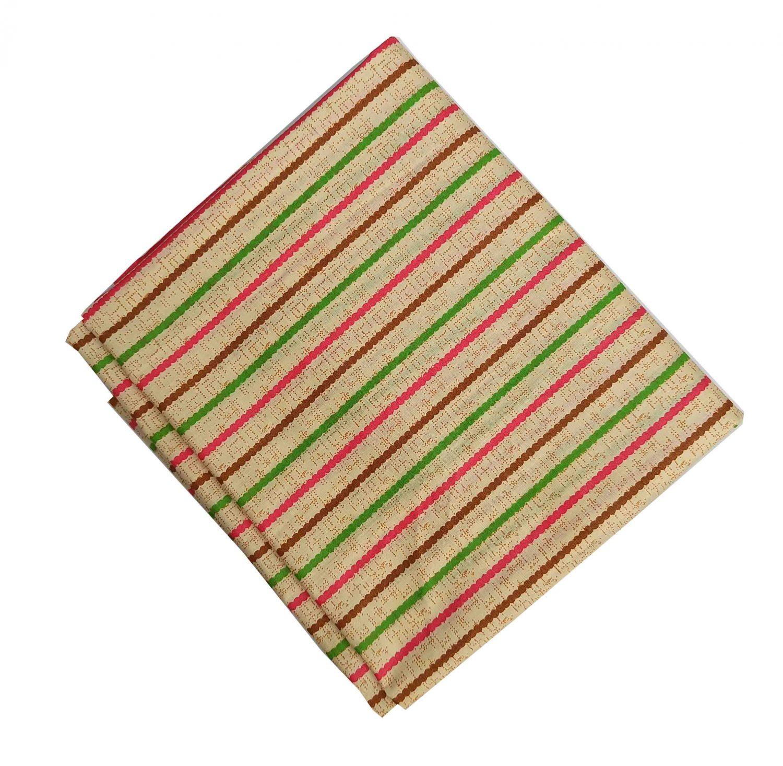 Multicolour Lines Pure Cotton soft fabric PC554 1