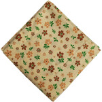 Fawn Floral Print Cotton fabric PC555