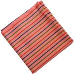 Pink Lining Print Cotton Fabric PC556