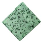 Light Green Print Cotton Fabric PC562