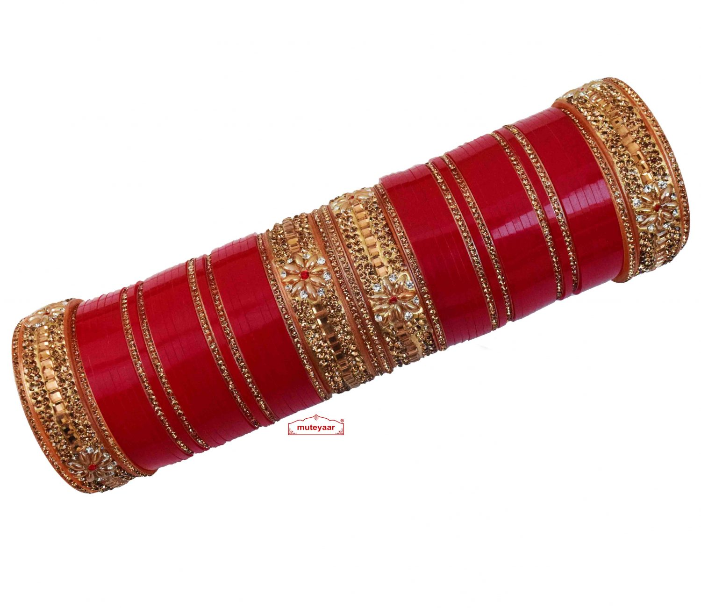 Designer Chura for Punjabi Wedding CH019 1