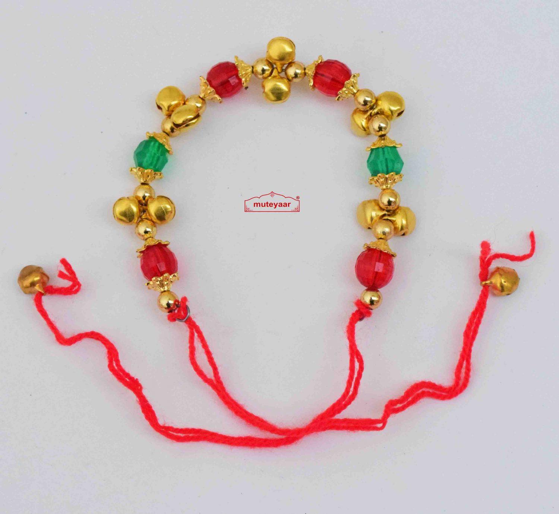 Multicolour Gana Wristband for Ladies Sangeet Night GN013 1