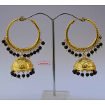Lotan Bali with Black Beads J0602