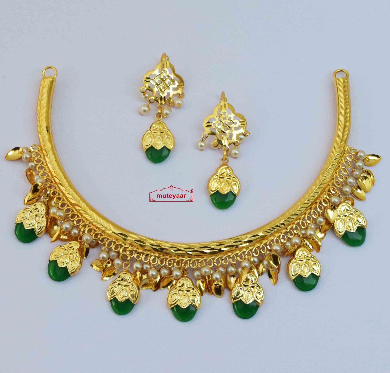 Hasli Dakh Set Punjabi Jewellery J0610 - Choose Colour 1