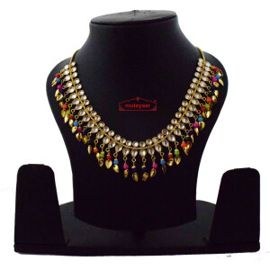 Multicolour Kundan Chain J0615