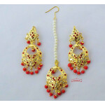 Jadau Tikka Earrings J0621