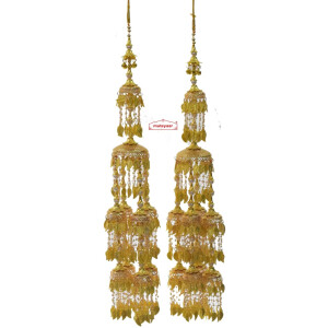 Golden Long Kaleera Set J0931