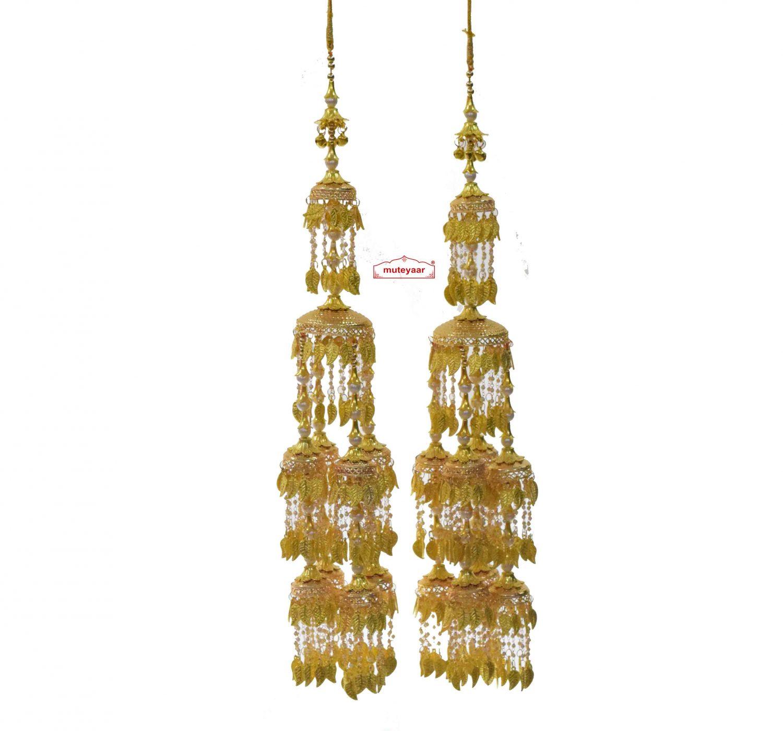 Golden Long Kaleera Set J0931 1