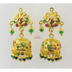Jadau Jhumki Earrings J2022