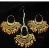 Punjabi earrings tikka set J0623
