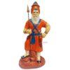 Nihang Singh Statue Orange 12 inch ST001