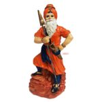 Nihang Singh Statue (Orange Colour – 8 inch Size) ST002