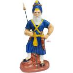 Nihang Singh Statue (Blue Colour -12 inch Size) ST003