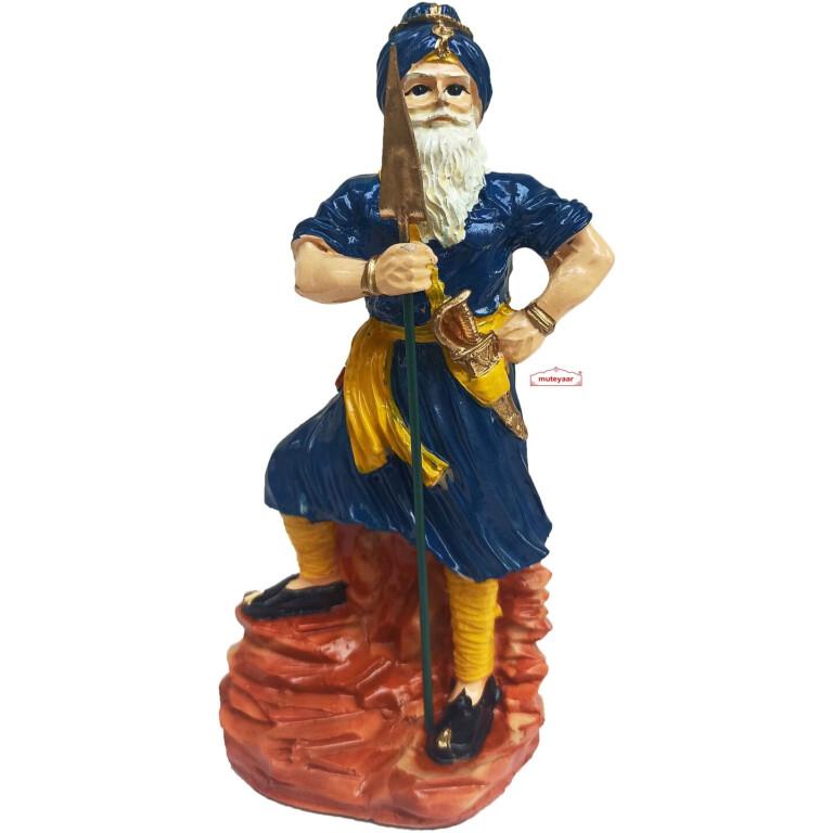 Nihang Singh Sculpture Blue Colour ST004