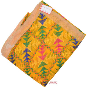 Yellow Phulkari Dupatta D0834