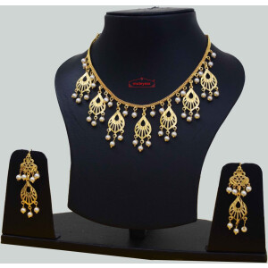 Punjabi Chain Earrings Set J0633
