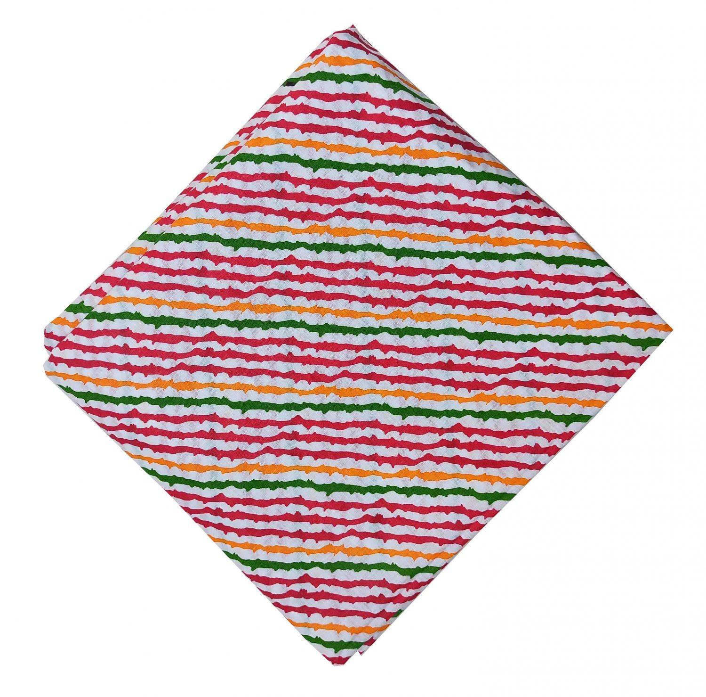 Multicolor Leheriya Cotton Fabric PC568 1