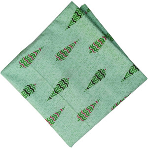 Green Print Pure Cotton Fabric PC572