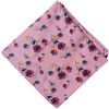 Pink Floral Print Pure Cotton Fabric PC574