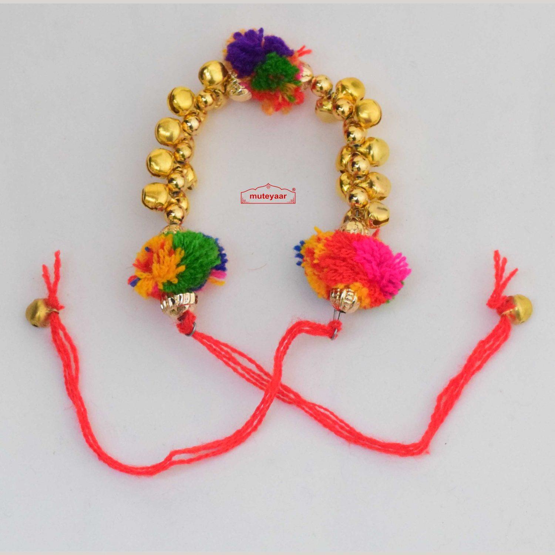 Ghungru Gana Wrist Band for Ladies Sangeet GN016 1