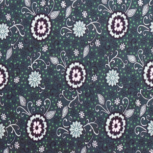 Dark Green Hosiery Fabric Cotton Based Stretchable Material HF033 (Width 76″)