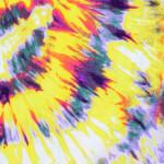 Yellow Tie Dye Hosiery Fabric HF043 (Width 75″)