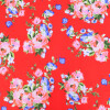 """Bright Red Stretchable Hosiery Fabric HF045 (Width 70"""")"""