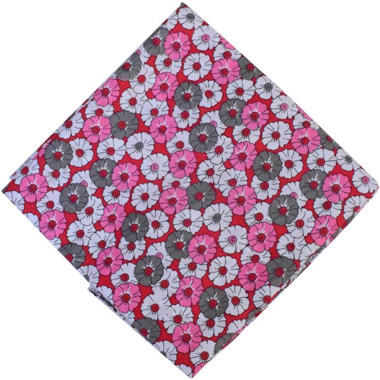 Floral Print Pure Cotton Fabric PC587