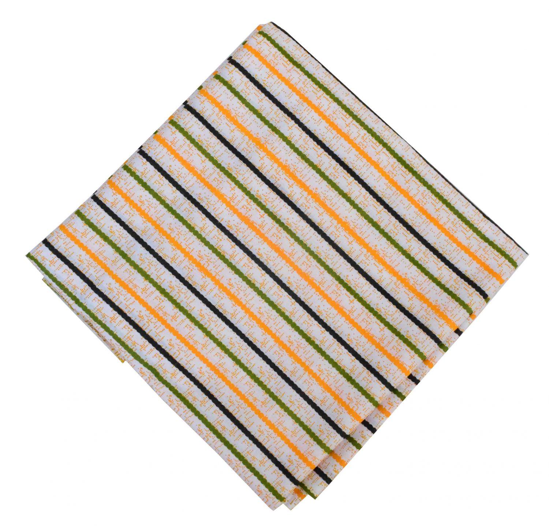Multi Lines Print Pure Cotton Fabric PC594 1