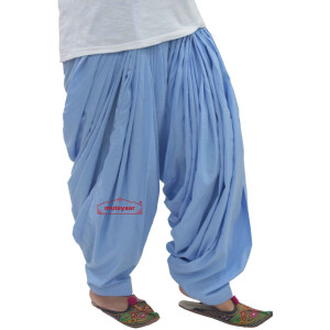 100% Pure Cotton Full Patiala Salwar