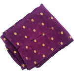 Golden Polka Dupatta Semi Chinon – Choose Colour