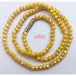 Crystal Chain Necklace 16 Inch Size – Different Colours Available