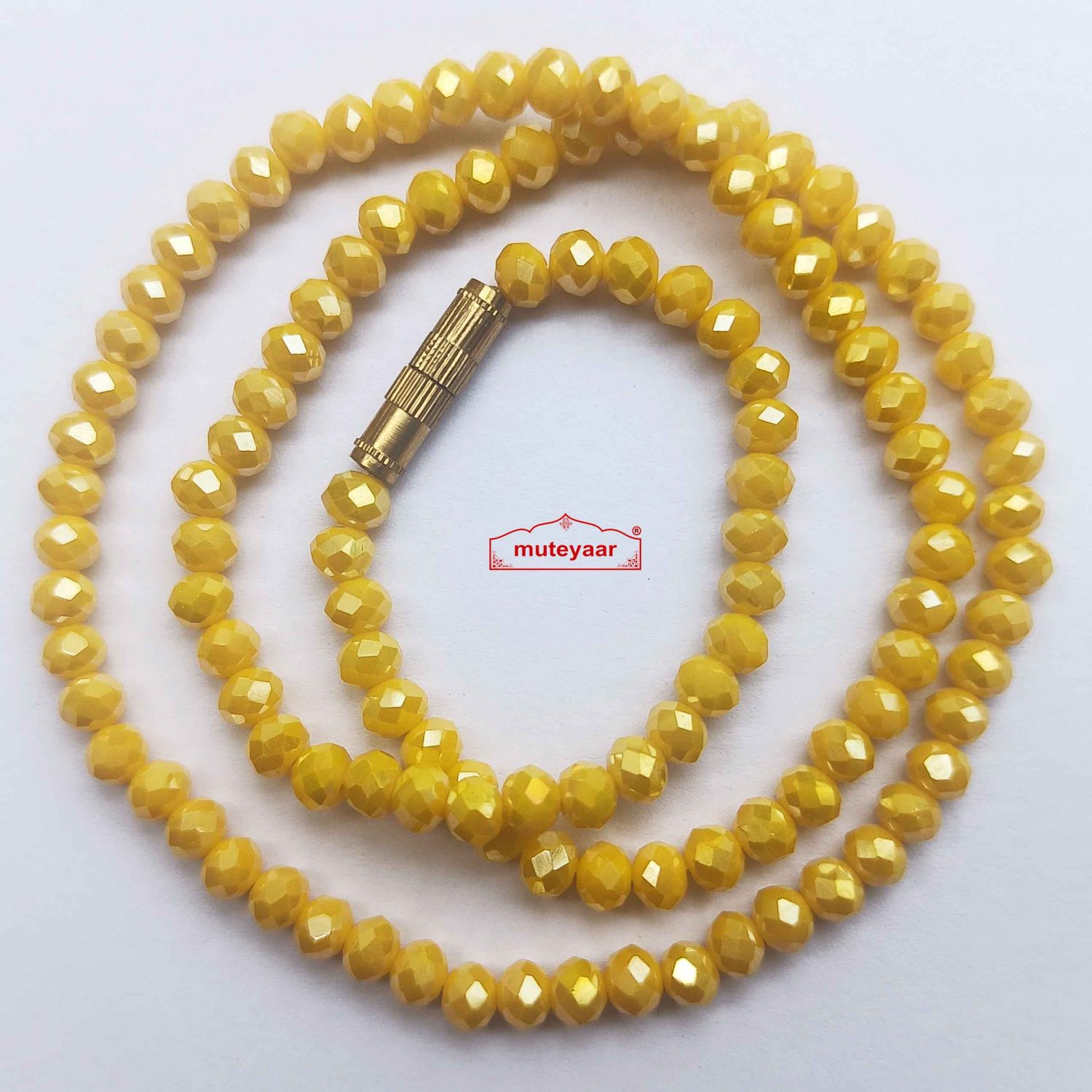 Crystal Chain Necklace 16 Inch Size - Different Colours Available 2