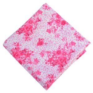 Pink Print Pure Cotton Fabric PC610