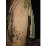 Party Wear Cotton Embroidered Suit RM045