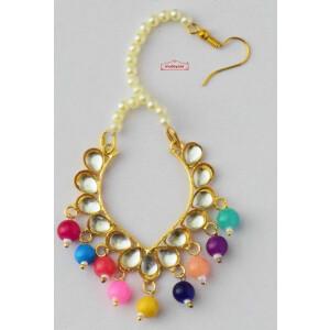 Kundan Tikka with Multicolour Beads J0634