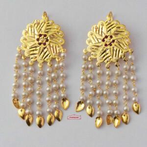 Punjabi Jhallar Earings J0636