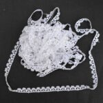 12mm White GPO Lace LC267