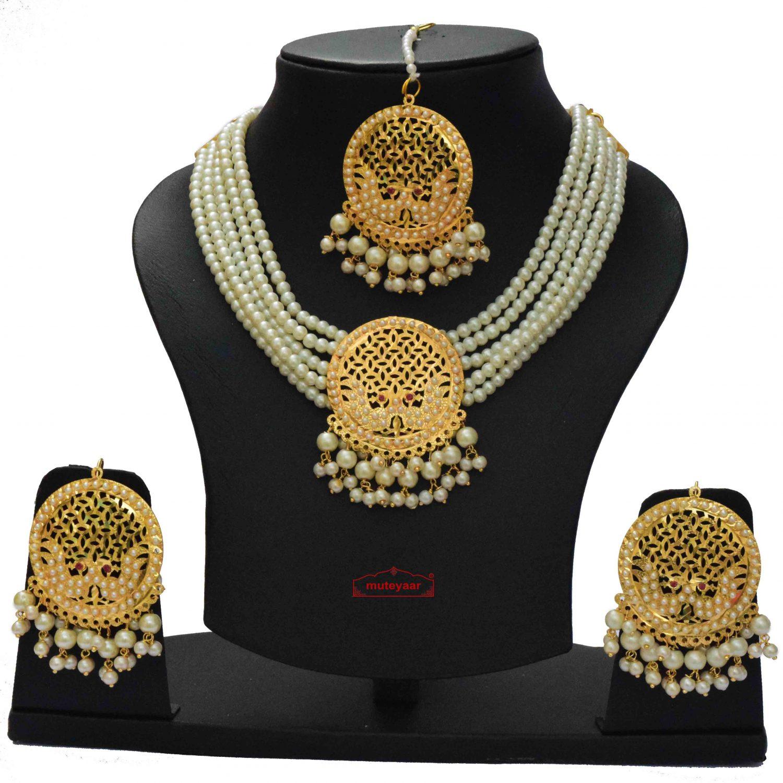Punjabi Jewellery Set J0646 1