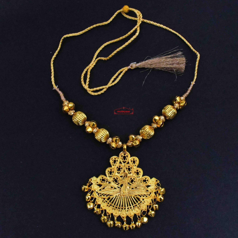 Peacock Necklace Punjabi Kentha J0647
