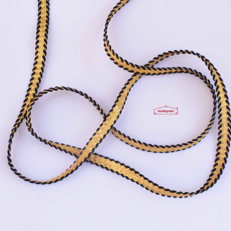 Black Golden Lace LC287