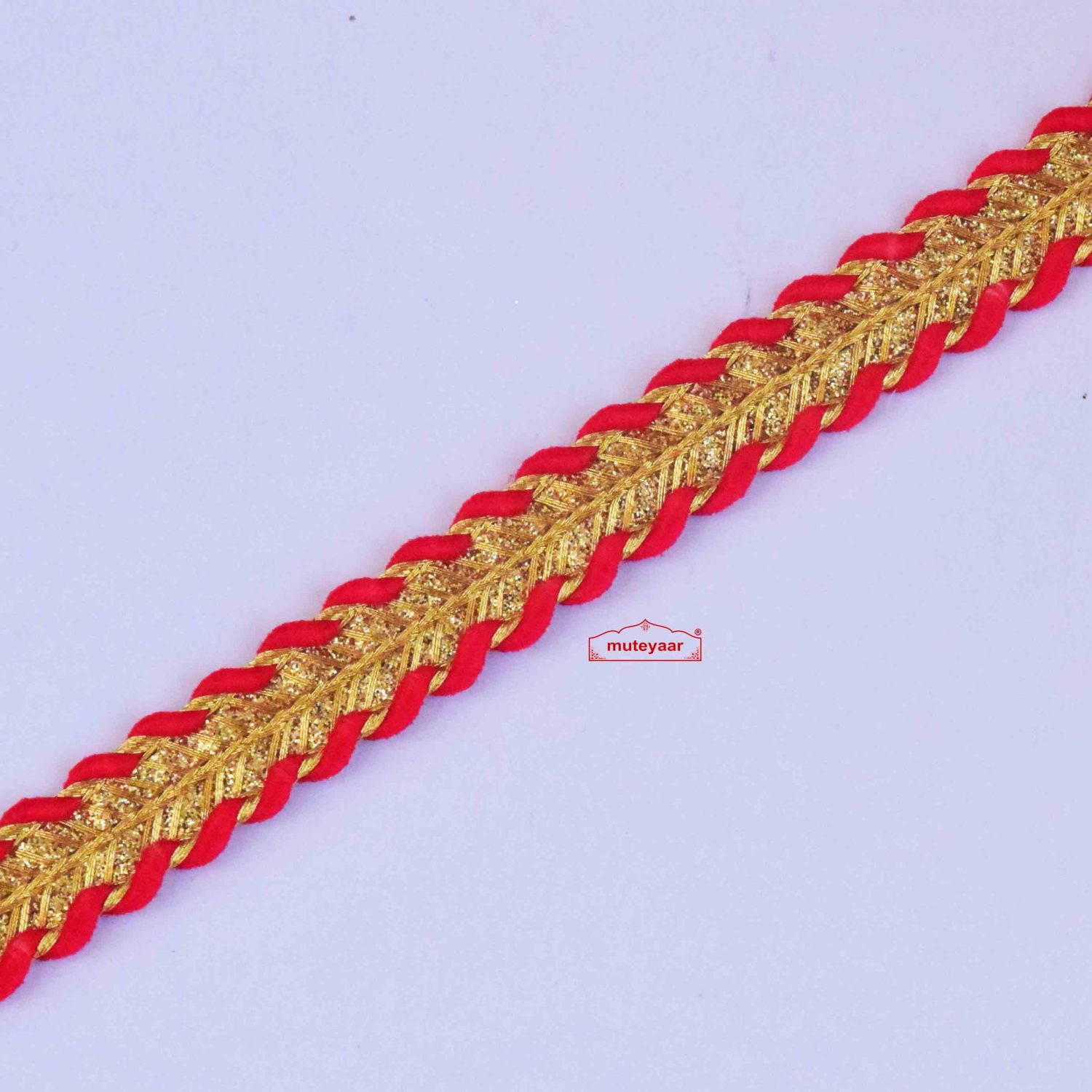 Red Golden Lace LC304