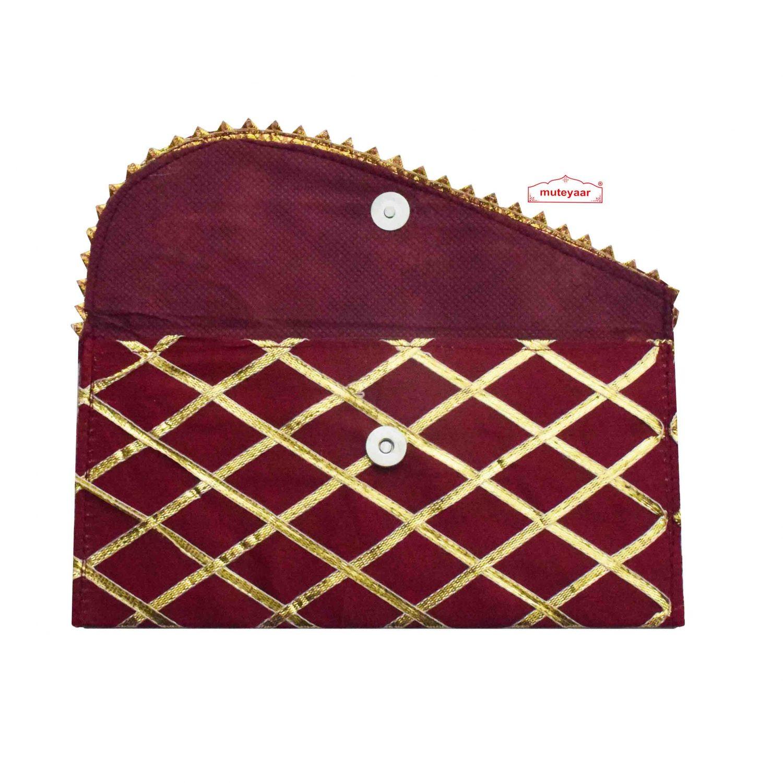 Gota Decorated Shagun Pouch Lifafa
